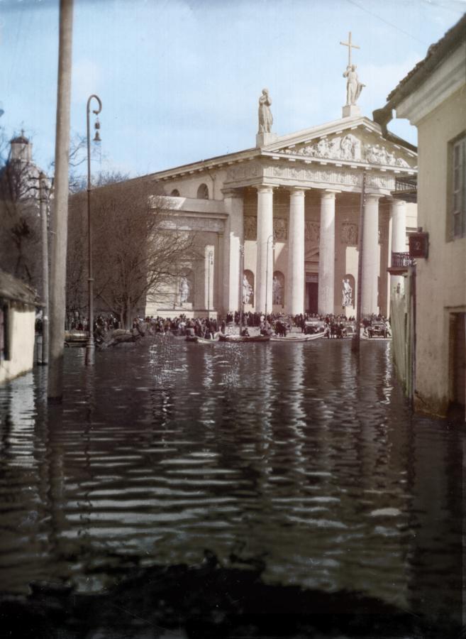 Potvynis-Vilniuje