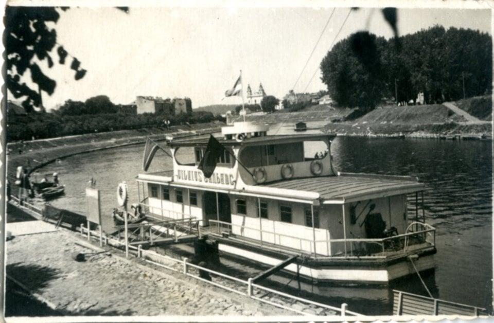 Laivas-Vilnius-1970m
